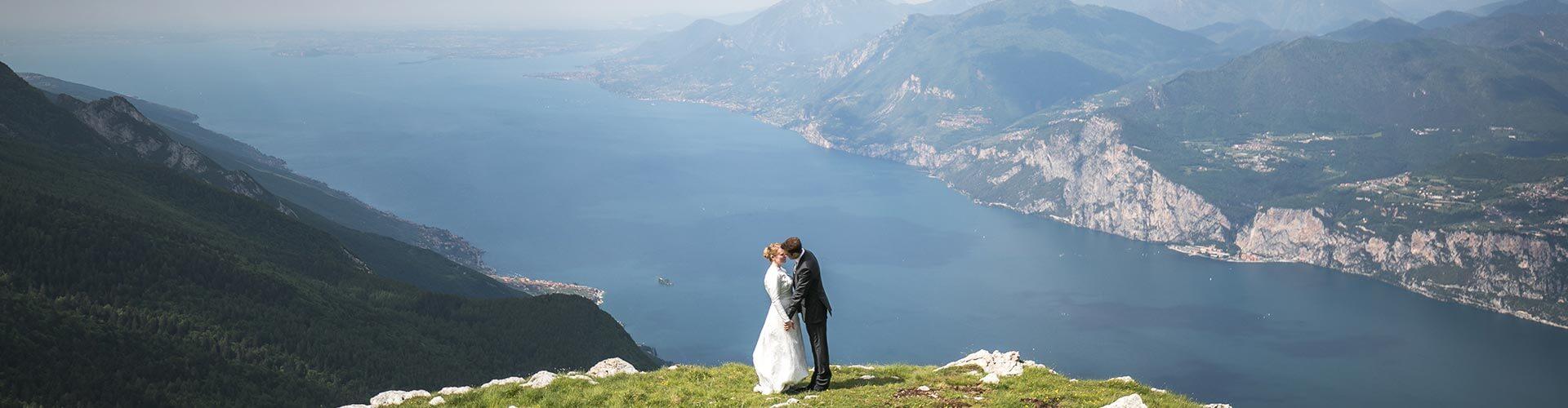 Lake Garda panorama from Monte Baldo